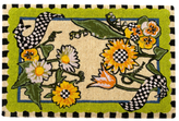 Mackenzie Childs Sunflower Entrance Mat