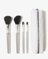 Forever 21 Cosmetic Brush Set & Bag