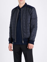Salvatore Ferragamo Quilted shell bomber jacket