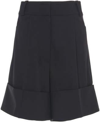 Low Classic Cuffed Wool Shorts