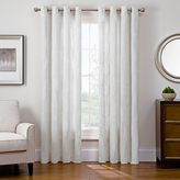 Sharper Image Cassie Grommet Top Snap-In Window Curtain Panel