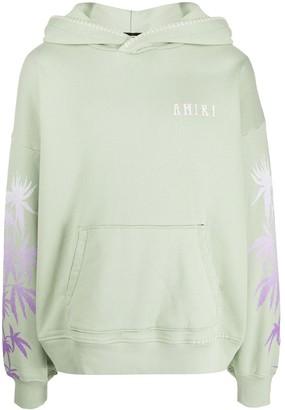 Amiri Palm Print Hoodie