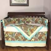 Hoohobbers Crib Bedding Set, Captiva, 4 Piece by