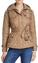 Burberry Short Finsbridge Quilted Coat