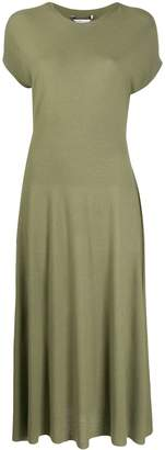 Agnona Flared Knitted Dress
