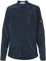 Stone Island lightweight shirt jacket - men - Cotton/Polyamide - XL