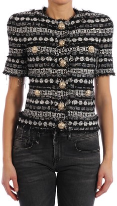 Balmain Short Sequins Jacket