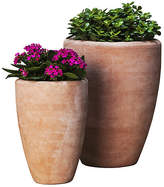 Campania International Set of 2 Abrielle Planters