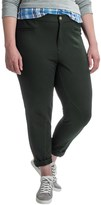Caribbean Joe Slim-Leg Riding Pants (For Plus Size Women)