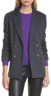 Polo Ralph Lauren Double Breasted Flannel Blazer