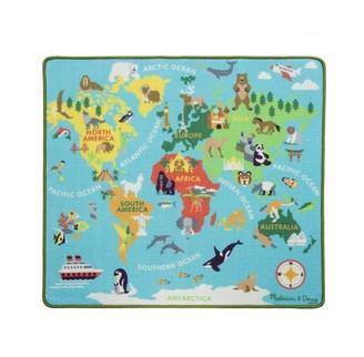 Melissa & Doug Round the World Travel Activity Rug 39''L x 36''W
