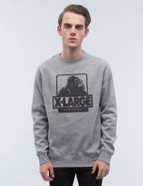 XLarge OG Logo Crewneck Fleece Sweatshirt