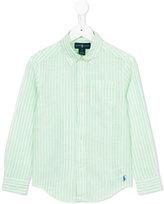 Ralph Lauren striped shirt - kids - Cotton/Linen/Flax - 5 yrs
