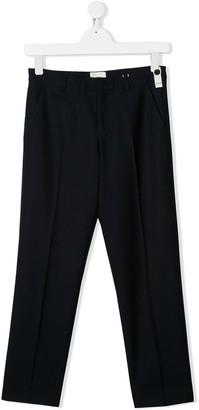 Fendi TEEN front pleats smart trousers