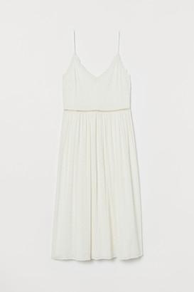 H&M Eyelet Embroidery Dress