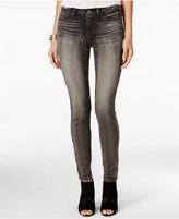 Jessica Simpson Kiss Me Grey Wash Super-Skinny Jeans