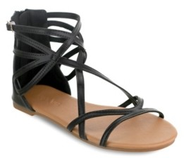 OLIVIA MILLER Largo Multi Strap Buckle Sandals Women's Shoes