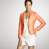 Pinpoint quilted blazer