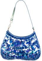 Prada Paillette-Embellished Satin Bag