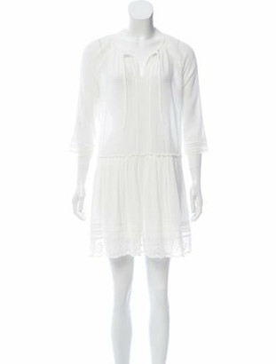 Hartford Lightweight Mini Dress w/ Tags White