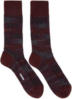 Missoni Red Print Socks