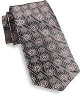 Rochester Medallion Silk Tie Casual Male XL Big & Tall