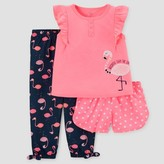 Just One You made by carter Toddler Girls' Three-Piece Pajama Set Pink - Just One You Made by Carter's®