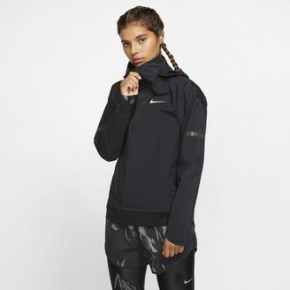 Nike Women's Hooded Running Jacket AeroShield