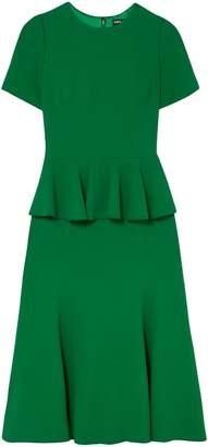 Dolce & Gabbana Ruffled Cady Peplum Dress