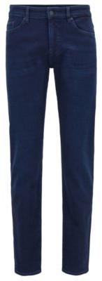 HUGO BOSS Slim Fit Jeans In Super Soft Italian Stretch Denim - Blue