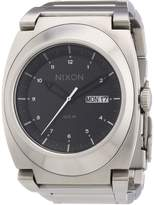 Nixon Men's Don A358000 Silver Stainless-Steel Quartz Watch with Dial