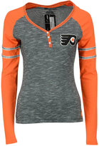 Majestic Women's Long-Sleeve Philadelphia Flyers Pure Fury T-Shirt