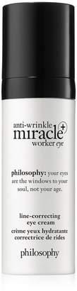 philosophy Anti-Wrinkle Miracle Worker+ Line-Correcting Eye Cream