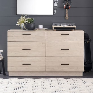 Pottery Barn Teen Modern Farmhouse 6-Drawer Wide Dresser