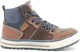 Wrangler WJ16236B Sneakers Kid Dark brown Dark brown