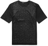 Issey Miyake Men - Slim-fit Printed Cotton-jersey T-shirt