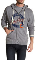 Mitchell & Ness MLB Padres Hooded Full Zip Jacket