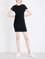 KENDALL + KYLIE Kendall & Kylie Knot-tied cotton-jersey dress
