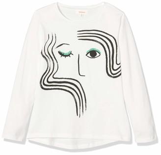 Catimini Girls' CP10005 TEE Shirt M/L Long-Sleeved Top
