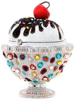 Judith Leiber Couture Ice Cream Sundae Sprinkles Crystal Clutch