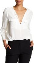 Joie Marlo Silk Long Sleeve Shirt