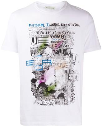 Etro graphic print crewneck T-shirt