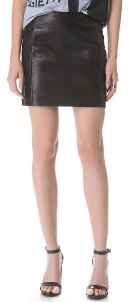 Maison Martin Margiela Leather Skirt