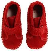 Minnetonka Kids Front Strap Bootie Kids Shoes