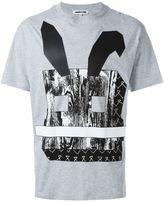 McQ by Alexander McQueen Electro Bunny print T-shirt