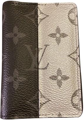 Louis Vuitton Pocket Organizer Black Cloth Small bags, wallets & cases