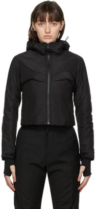 Hyein Seo Black Quill Padded Jacket