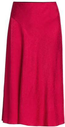 Rag & Bone Letti Satin A-Line Skirt