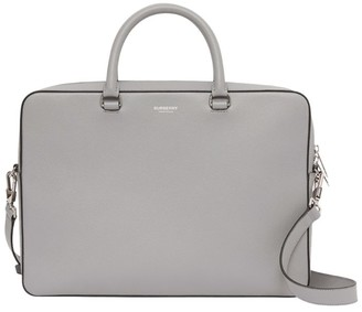 Burberry Grained Leather Briefcase