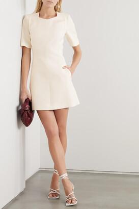 Stella McCartney - Wool-blend Twill Mini Dress - White